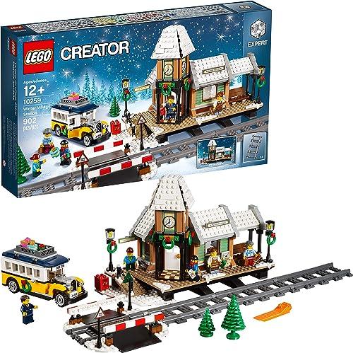 lego creator train station