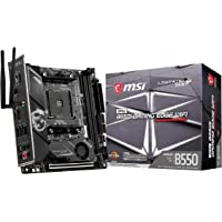 MSI MPG B550I Gaming Edge WiFi ITX Motherboard for AMD AM4 CPUs 7C92-002R