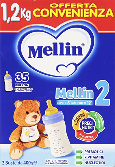 Mellin 2 Milk powder 1.2kg Continue