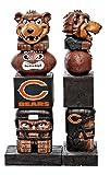 Evergreen Tiki Totem Statue NFL Chicigao Bears