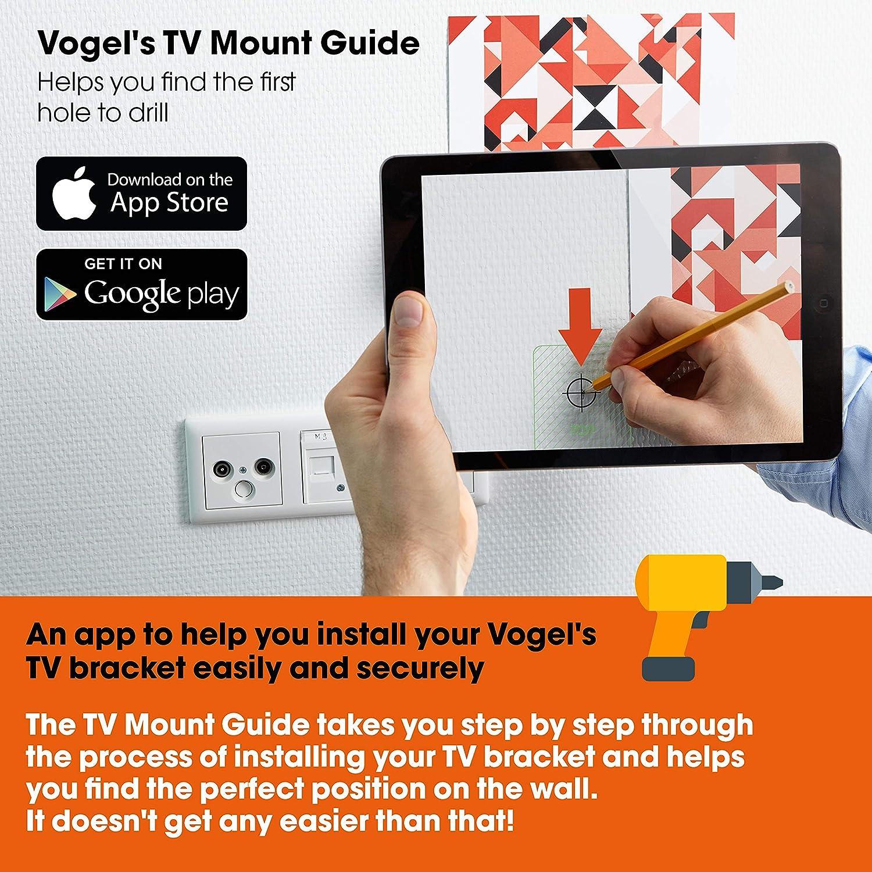 Vogels Thin 550, Ultra fuerte soporte de Pared para TV muy grande ...