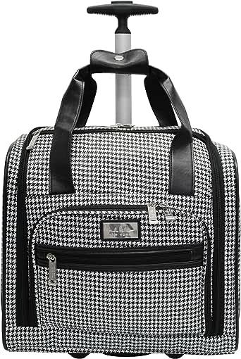 Amazon.com | Nicole Miller Underseat Luggage Collection ...