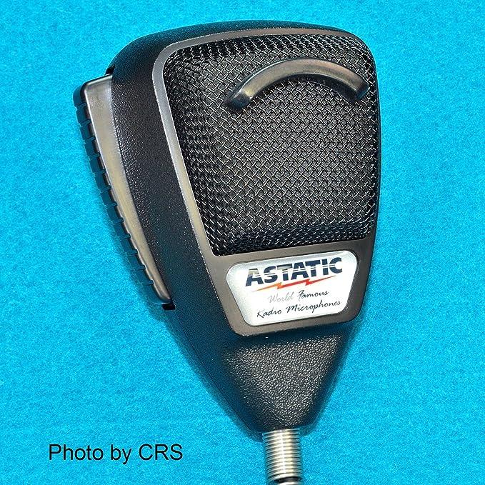 Amazon.com: Astatic 636L Noise Canceling Mic CB Radio 4 pin Cobra ...