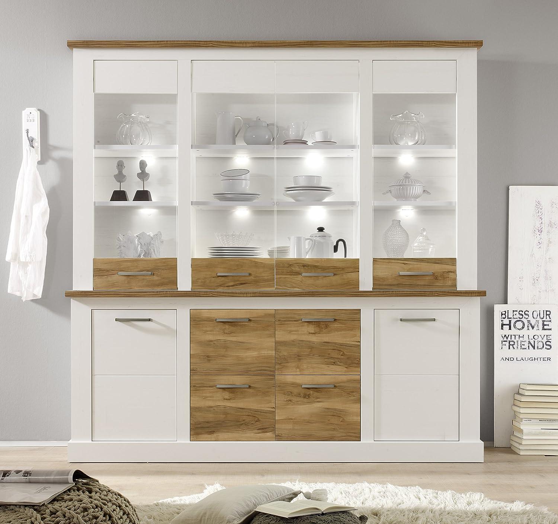 Trendteam Smart Living Wohnzimmer Highboard Schrank Toronto 210 X