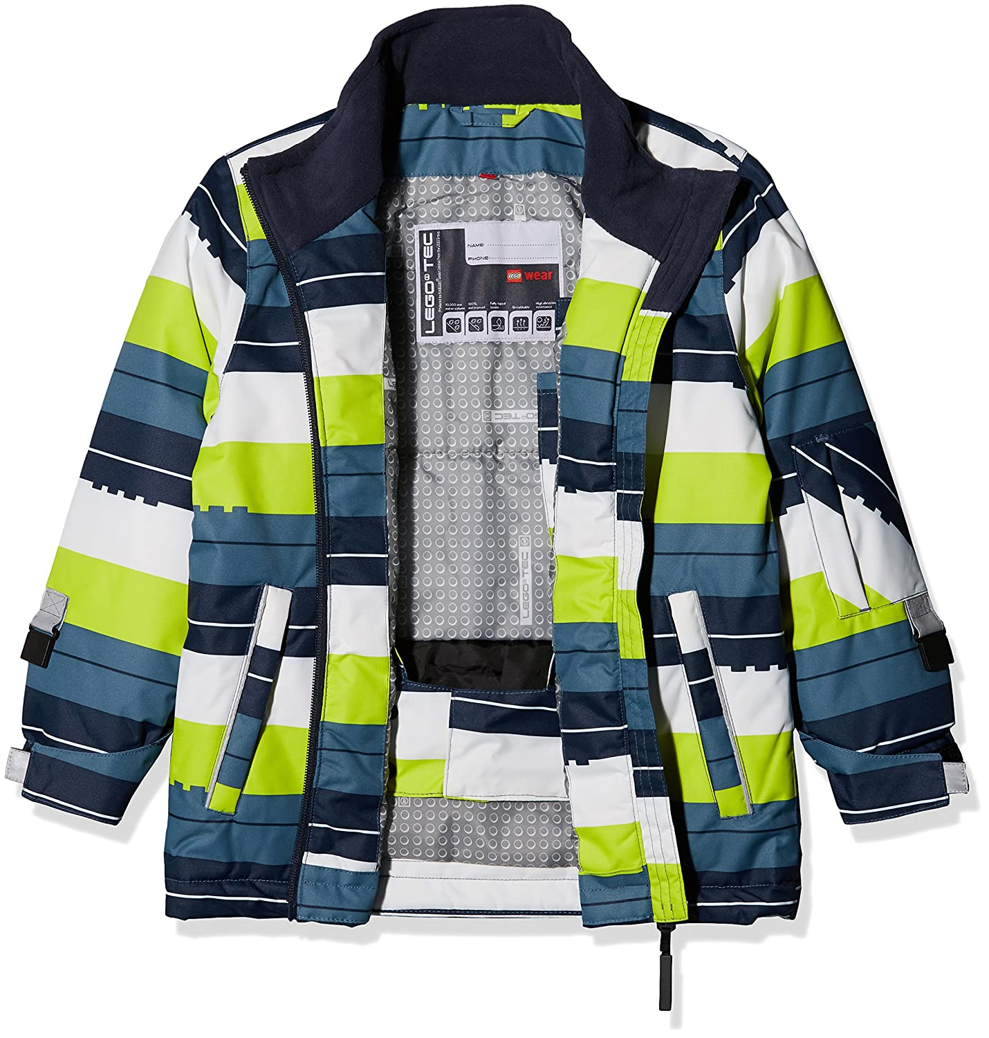 5cf66ba36 Lego Wear Boy s Jacket  Amazon.co.uk  Clothing