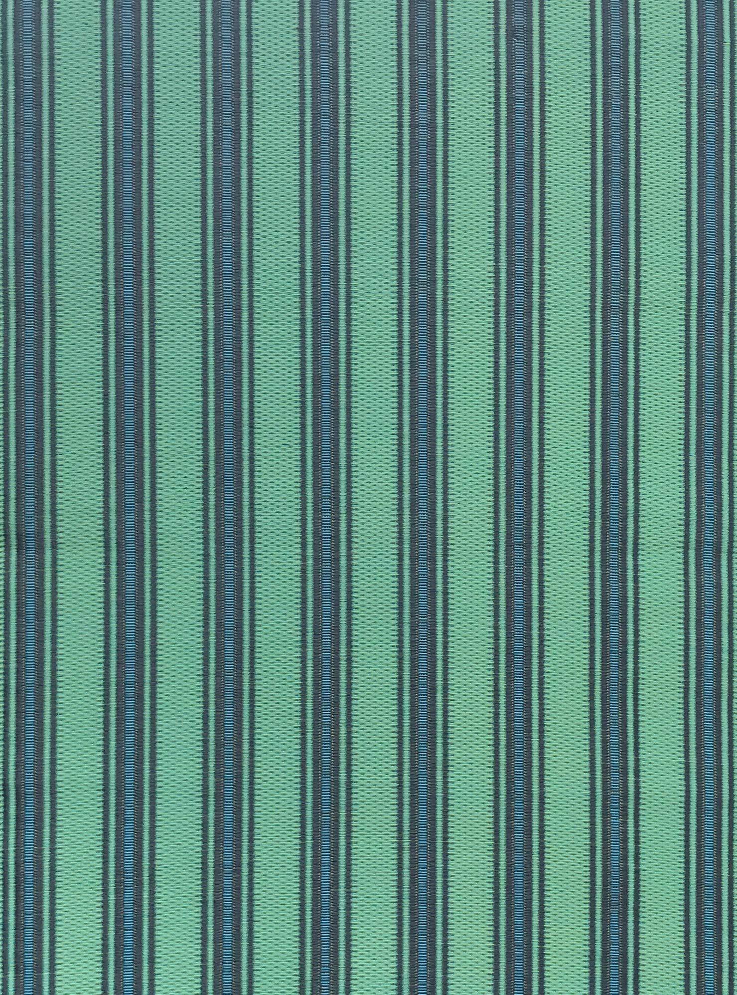 Mad Mats® Indoor/Outdoor Floor Mat, 2.5' X 8' Vertical Stripe - Black Aqua