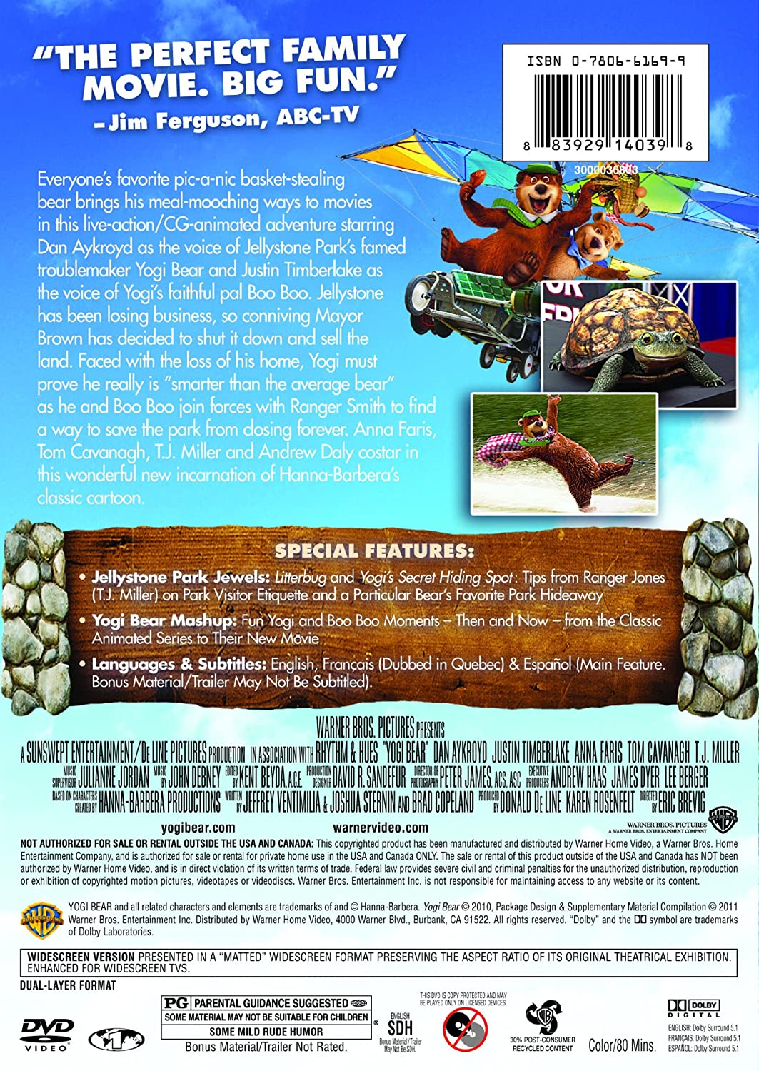 Movie Yogi Bear Park Ranger Zona Ilmu 3