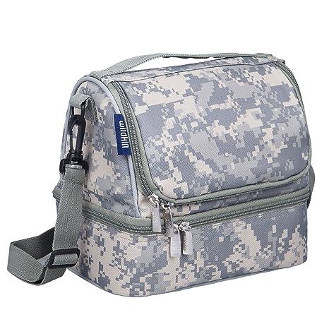 1ccd7ae399df Wildkin Two Compartment Lunch Bag, Digital Camo