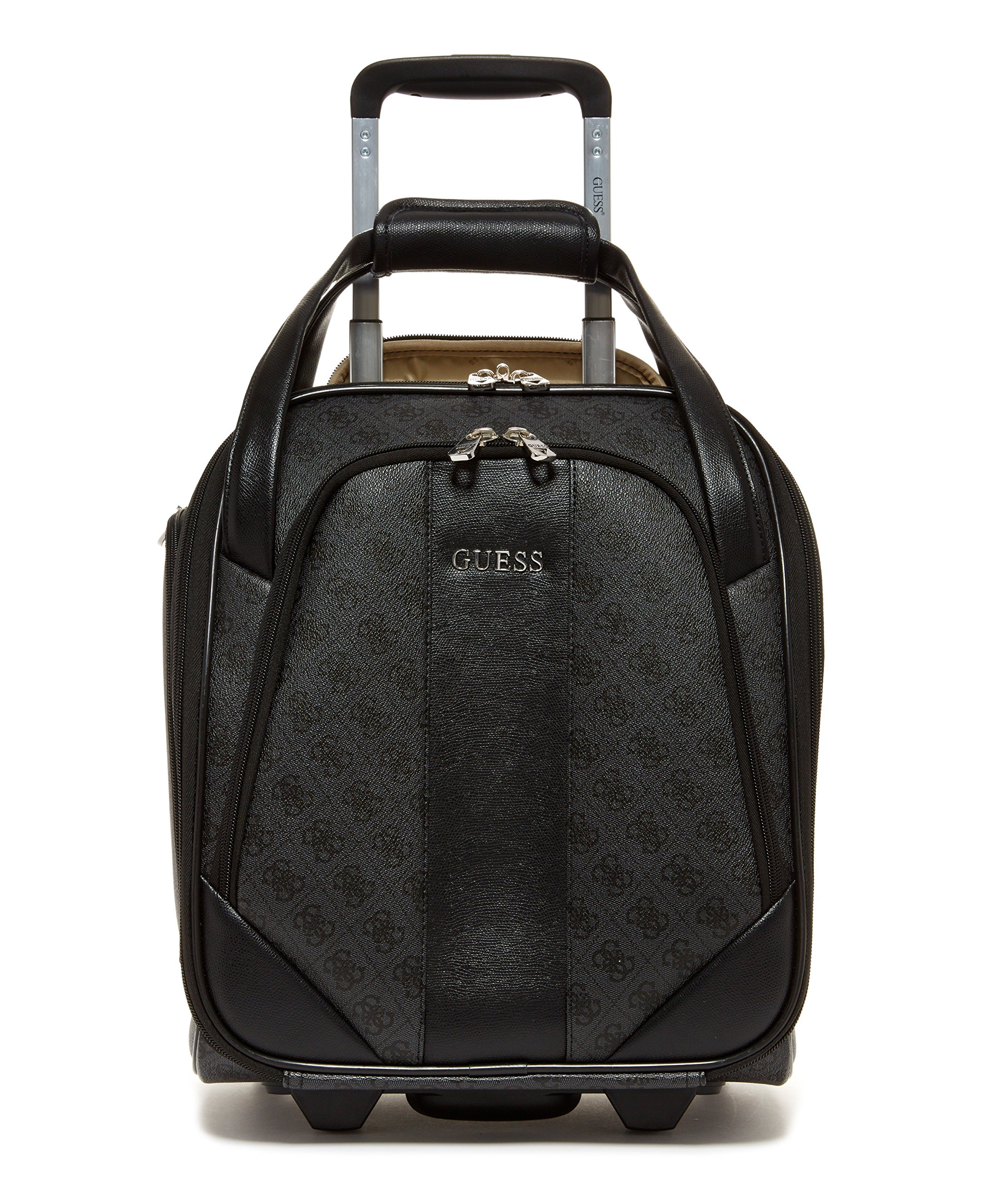 Guess Nissana Wheeled Underseater, Charcoal with Silver Hardware
