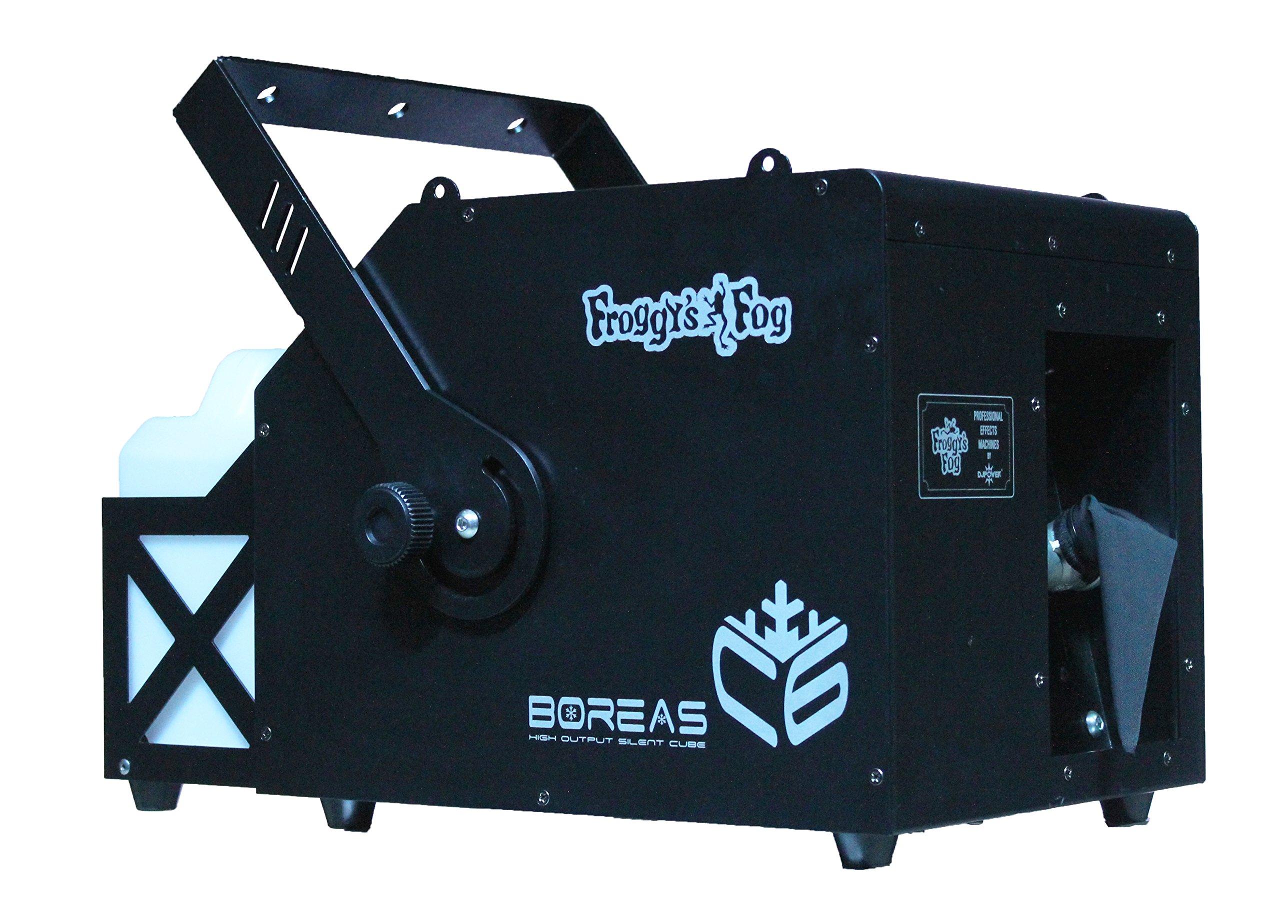BOREAS CUBE C6 ‐ HIGH OUTPUT ‐ SUPER SILENT SNOW MACHINE