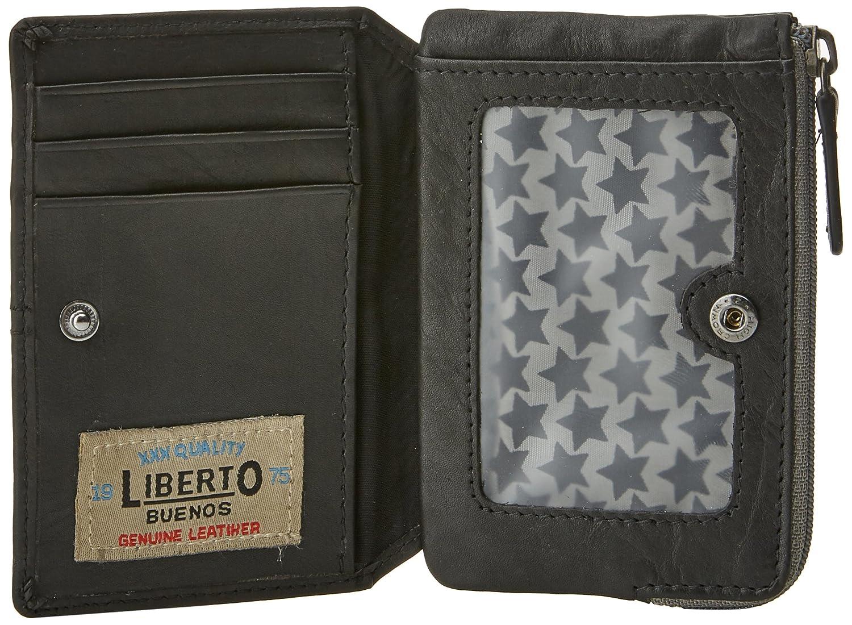 Liberto 570542, Bolsa y Cartera para Hombre, Negro, 1x11x7.5 cm (W x H x L): Amazon.es: Zapatos y complementos
