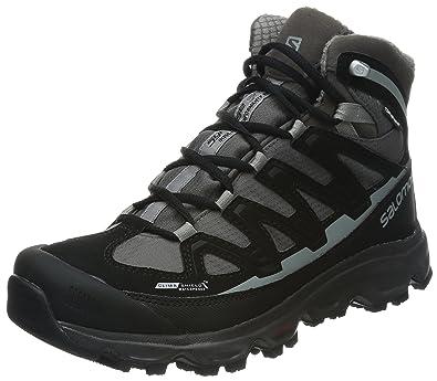 Salomon Synapse Snow CS WP, Chaussures de trekking et randonnée homme Noir