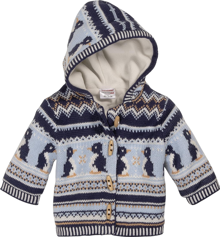 Schnizler Baby Knitting Janker Penguin Warm Padded Cardigan 850101
