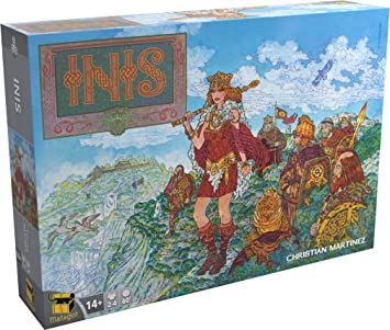 Inis Board Game - French Version: Amazon.es: Juguetes y juegos