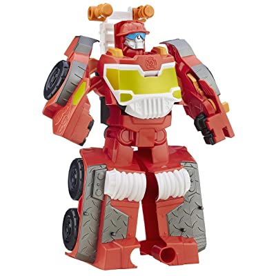 Transformers Playskool Heroes Rescue Bots Night Rescue Heatwave: Toys & Games