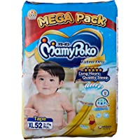MamyPoko Extra Dry Tape Diapers, XL, 52 Counts