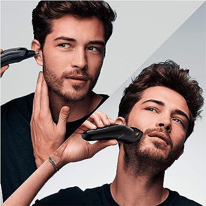 Braun Recortadora MGK3221 6 en 1, Máquina recortadora de barba ...