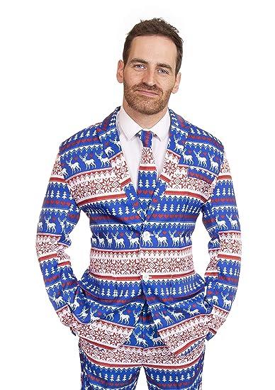 Stag Suits Ciervo Trajes Traje de Vacaciones de Navidad para ...