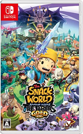 Level 5 The Snack World Trejarers Gold NINTENDO SWITCH JAPANESE ...