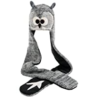 Nirvanna Designs HSOWL Owl Hat Scarf