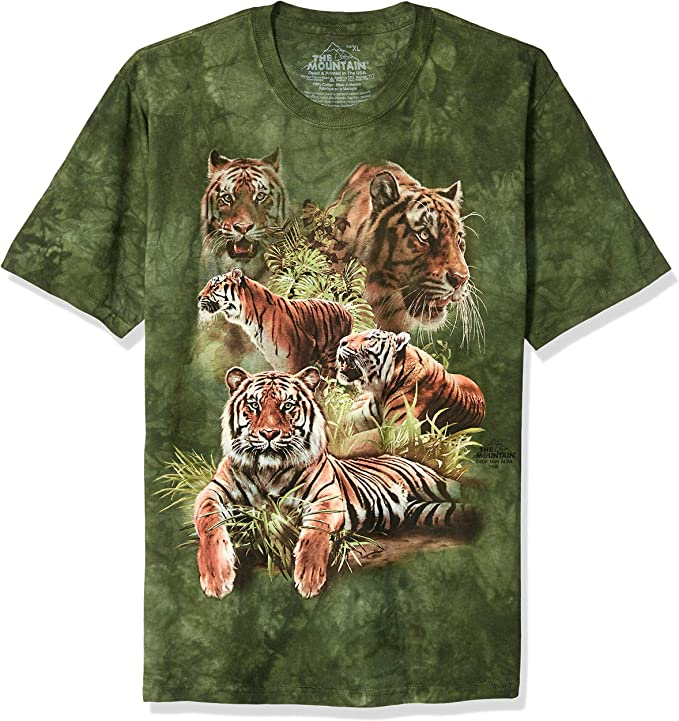 The Mountain Unisex Child White Tigers Of Bengal Zoo T Shirt