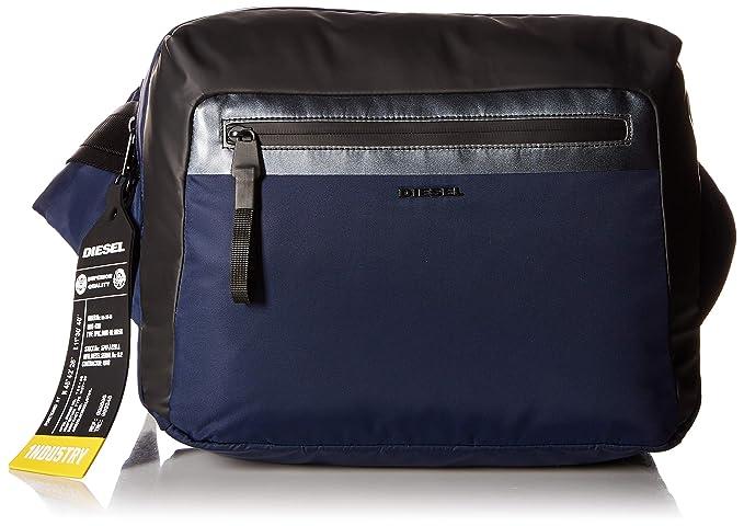 172d2680d32879 Diesel Men's VOLPAGO CROSSPLUS-Belt Bag, dark navy/black UNI: Amazon.ca:  Clothing & Accessories