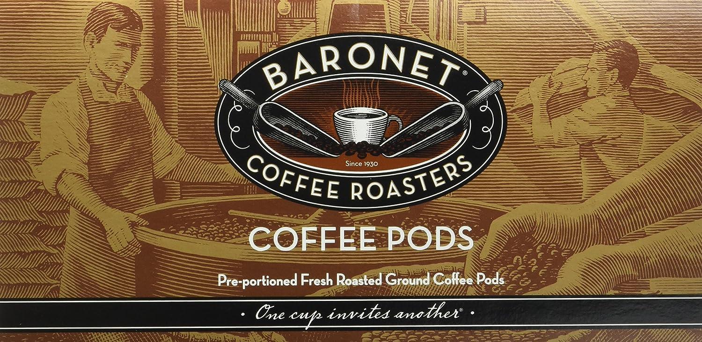 Baronet Coffee Butter Pecan Coffee Pods, 54 Count: Amazon com