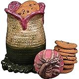 "SCS Direct Aliens Ceramic Cookie Jar - Xenomorph Alien Egg with Facehugger Lid - 9.5"" x 5.5"""