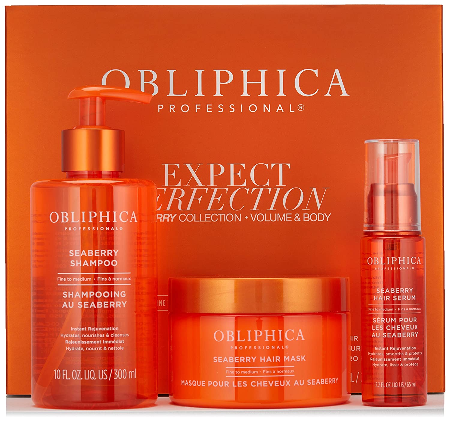 Obliphica Professional Expect Perfection Volume & Body Seaberry Collection