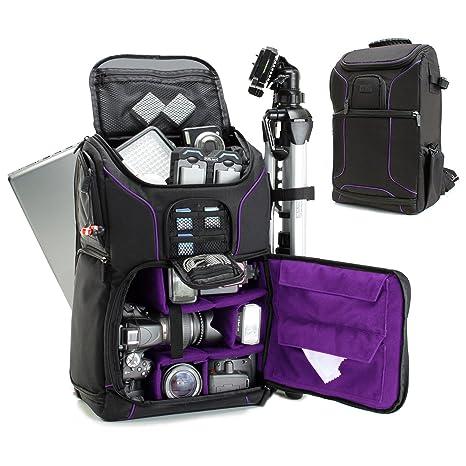 Amazon.com: Mochila para cámara réflex digital de 39.62 cm ...