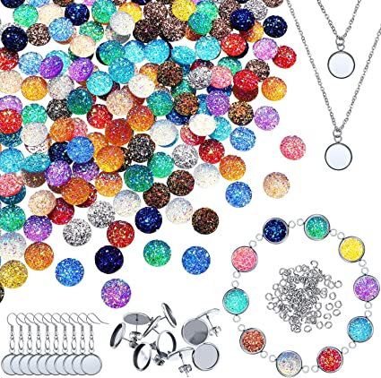 60 x 16 mm clear resin domes//stickers for cabochons//tiles jewellery craft