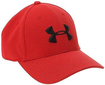 Under Armour Mütze UA Blitzing Cap - Gorra de golf para hombre, color rojo/negro, talla XL: Amazon.es: Deportes y aire libre