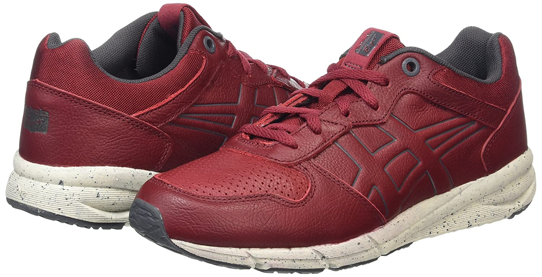 Shaw Runner - Sneakers Basses - Mixte Adulte - Rouge (Burgundy) - 38 EUAsics yYvtz7