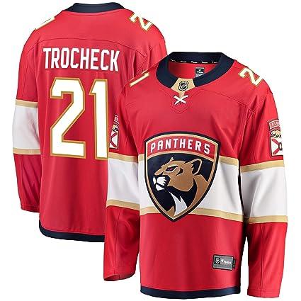 42c40b4b Football Fanatics Vincent Trocheck Florida Panthers Home Breakaway Player  Jersey (X-Large)