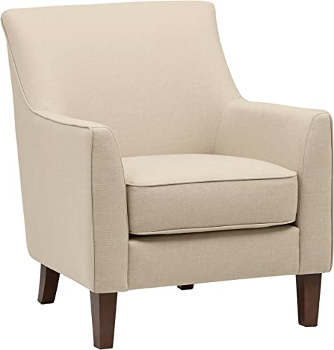 Stone Beam Cheyanne Living Room Accent Chair, 31 W, Marshmallow