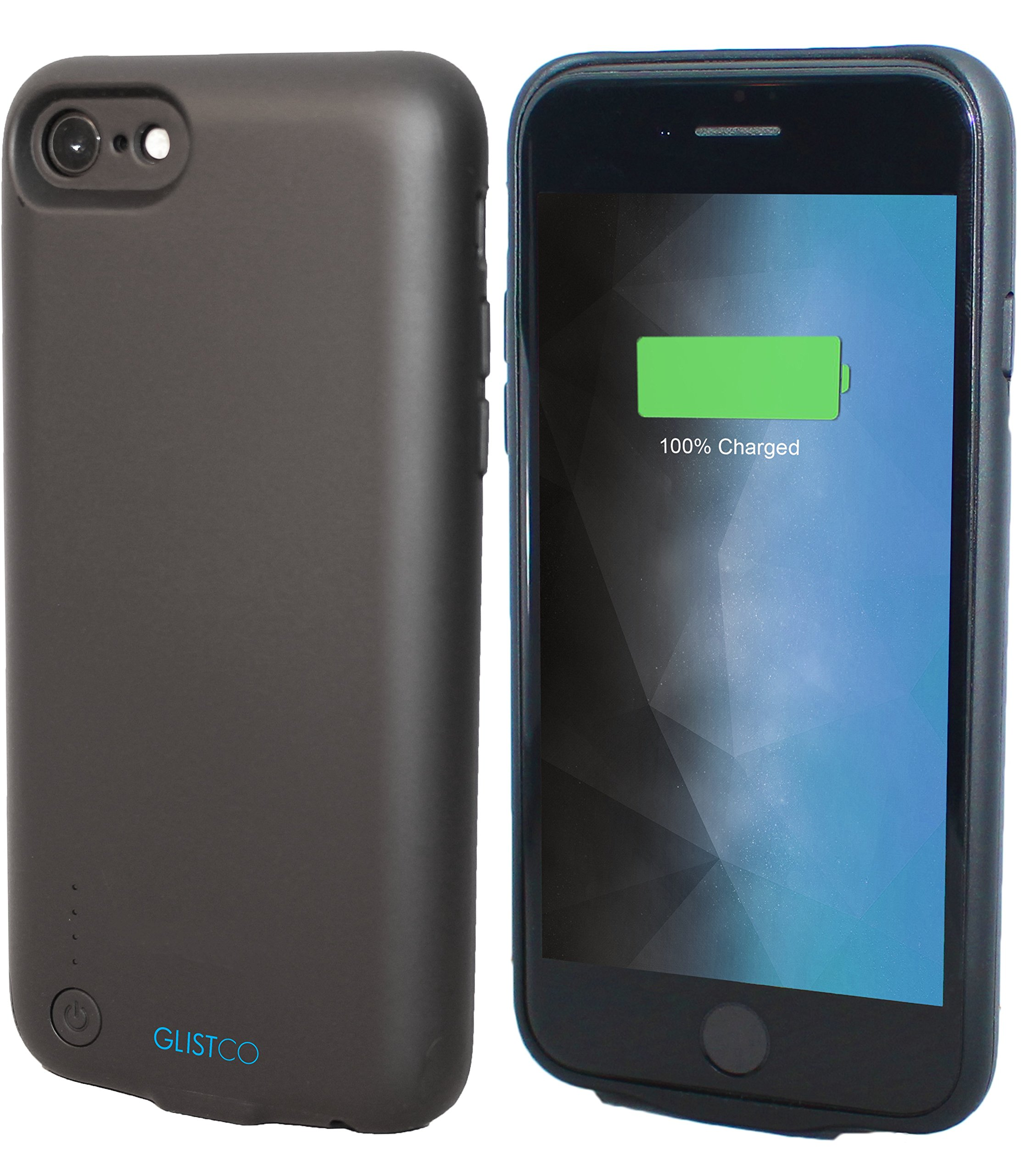 Glistco iPhone 7 & iPhone 8 Battery Case with 3.5mm Headphone Jack