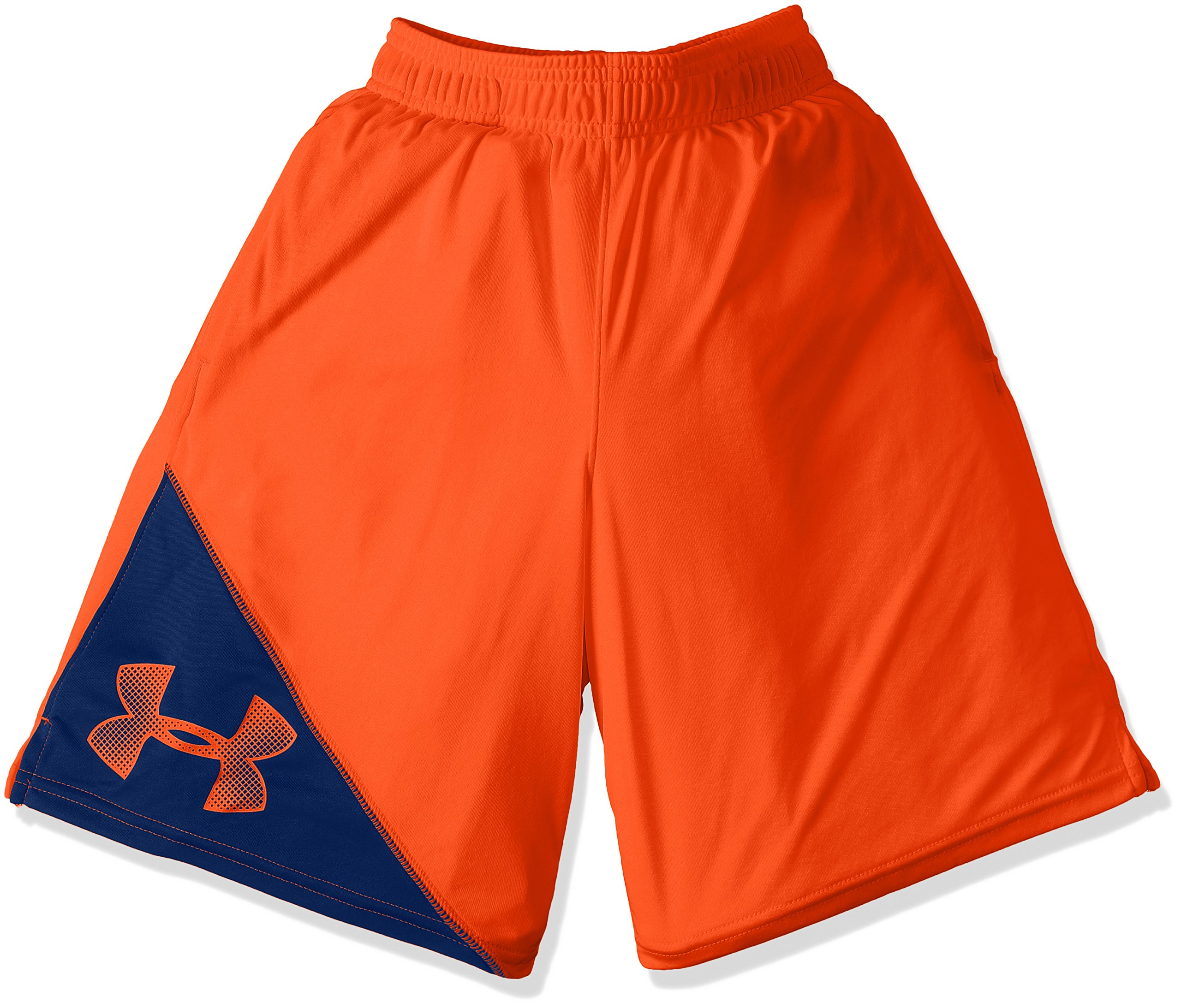 Under Armour Boys' Tech Prototype Shorts, Dark Orange /Dark Orange, Youth X-Large