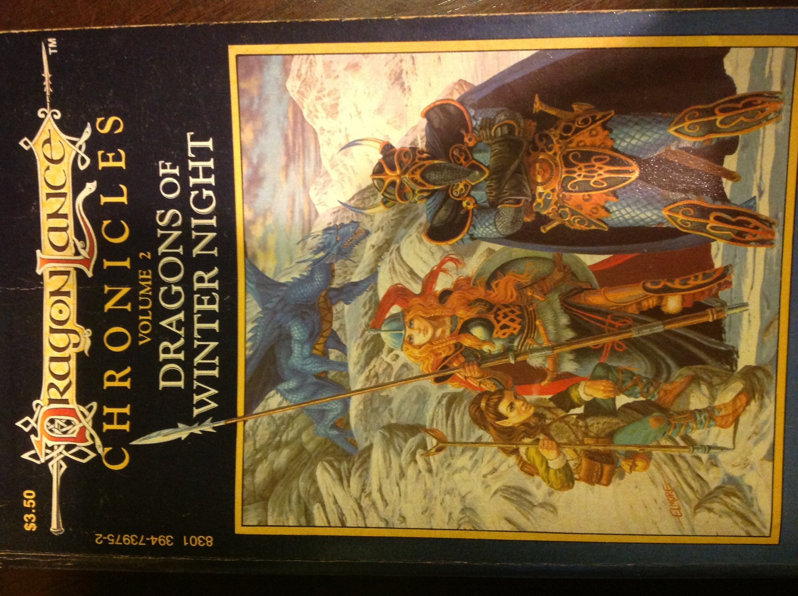 Dragonlance Chronicles : Volume 2 Dragons of Winter Night: Margaret;  Hickman, Tracy Weis: 9780880381727: Amazon.com: Books