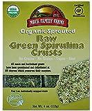 Mauk Family Farms Organic Raw Crusts, Green Spirulina, 4 Ounce