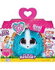 Scruff-a-Luvs Real Rescue - Pet Soft Toy - Interactive Feature Plush