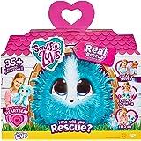 Scruff-A-Luvs MT638SED04 My Real Rescue Collectible Figures, Aqua