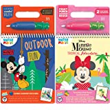 Scentco Water Magic - Scented Reusable Water Reveal Activity Book 2-Pack (Mickey and Minnie Mouse)