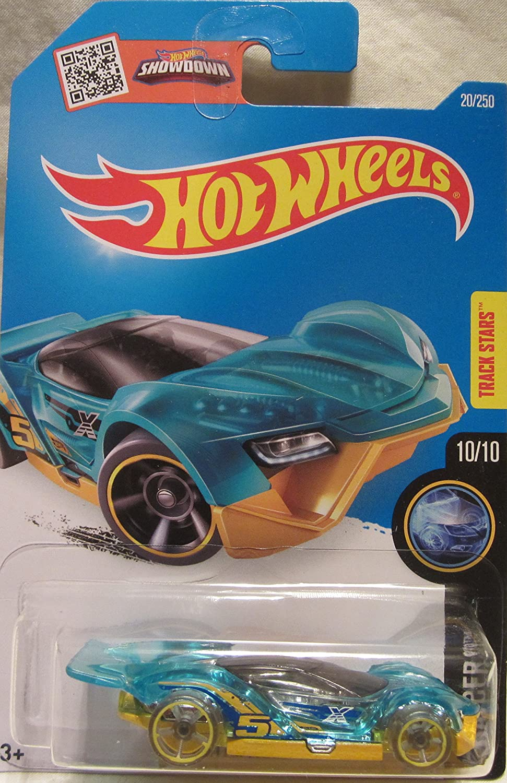 2016 Hot Wheels #020//250 Blau - X-Raycers Serie 10//10 BLITZSPEEDER