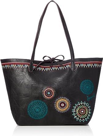 Desigual BOLS SIARA CAPRI Bolso shopping mujeres Negro Bolso shopping