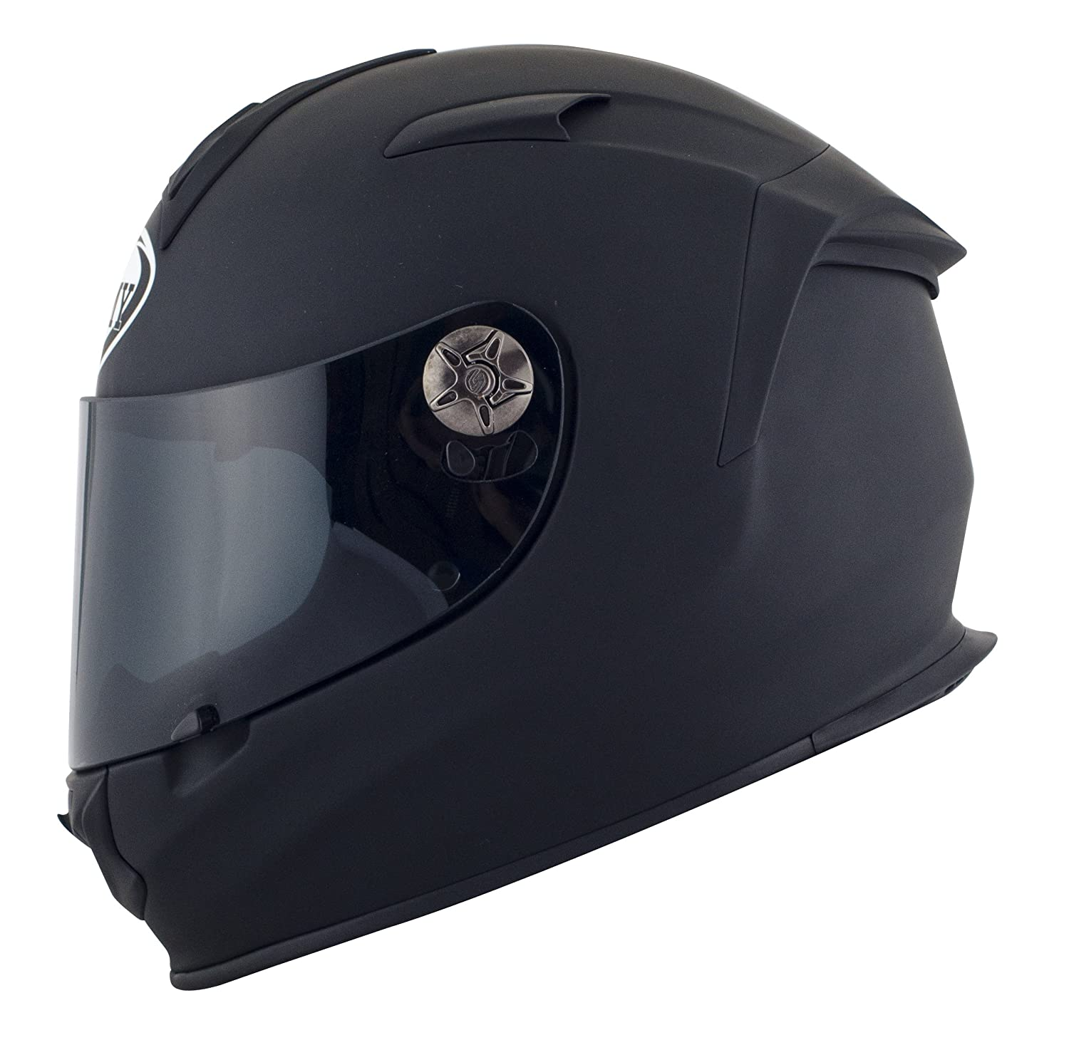 Amazon.es: SUOMY SR Sport - Casco para Moto Integral, Negro Mate (Plain Negro Mate), M