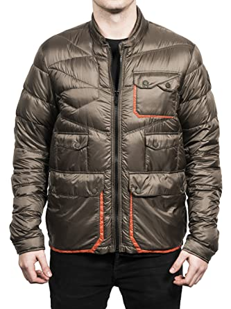 Moncler Men's Scorpion Lightweight Down Jacket Green