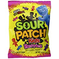 Deals on 12-PK our Patch Kids Sweet and Sour Gummy Berries Candy 3.6oz