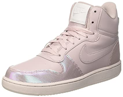 Image Unavailable. Image not available for. Color  NIKE Women s Court  Borough Mid SE High Rise Sneaker (Particle Rose ... 61d5bcc89