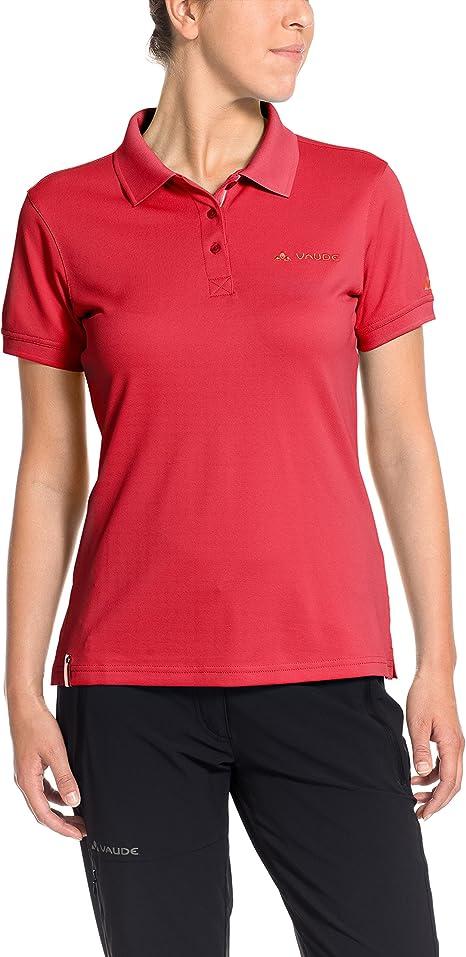 VAUDE Women s – Camiseta de Mujer Marwick Polo II, Primavera ...