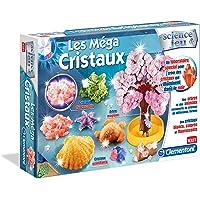 Clementoni - 62004-Méga Cristaux-Jeu scientifique